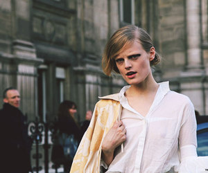 fashion, Hanne Gaby Odiele, and details image