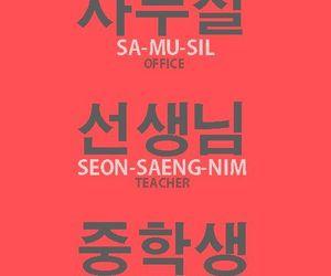 basics, english, and korea image