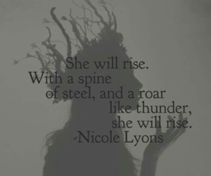 quotes, rise, and she image