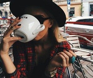 coffee, fashion, and ring image