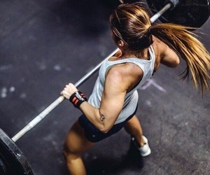fitness, girl, and pretty image