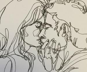 art, love, and kiss image
