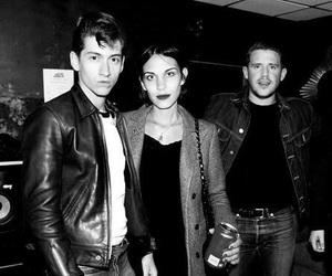 alex turner, alexa chung, and arctic monkeys image