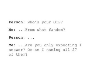 otp, fandom, and funny image
