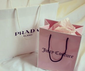 Prada, juicy couture, and bag image