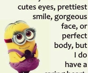quote, minions, and funny image