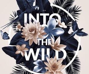 flowers, wild, and bird image