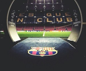 Barca, football, and team image