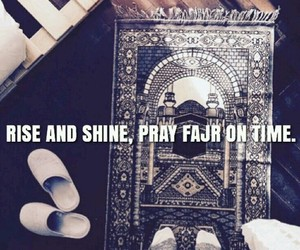 rise, fajr, and salah image