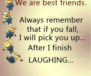 laughing, quotes, and friendship quotes image