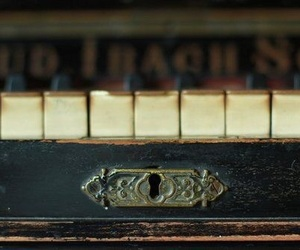 book, music, and piano image