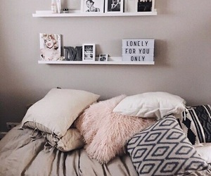 bedroom, chill, and home image