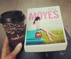 book, coffee, and studying image