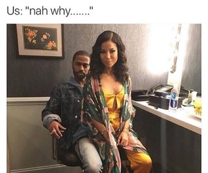big sean, Relationship, and jhene aiko image