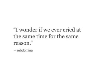 quote, cry, and text image