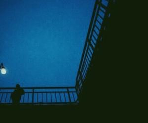 alone, alternative, and blue image