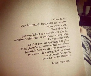 enfants, french, and quote image