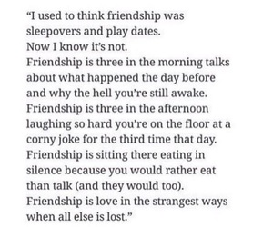 friendship and wordporn image