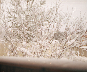 snow, tumblr, and vintage image