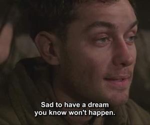 Dream, sad, and quote image