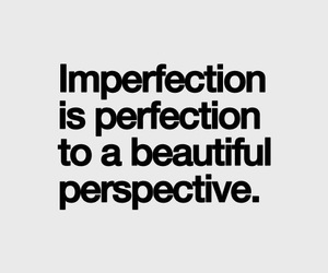 quotes, beautiful, and imperfection image