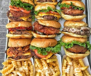 food and fries image