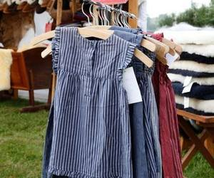clothes, vintage, and dresses image