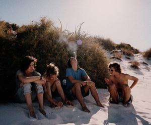 beach, tame impala, and summer image