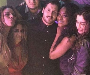 val chmerkovskiy, fifth harmony, and ally brooke image