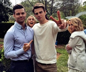 The Originals, daniel gillies, and claire holt image