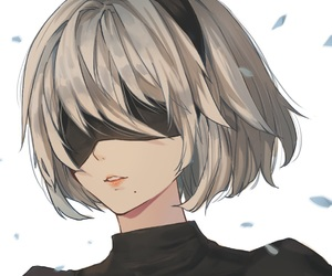 anime, video game, and nier automata image