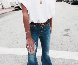 belt, drink, and fashion image