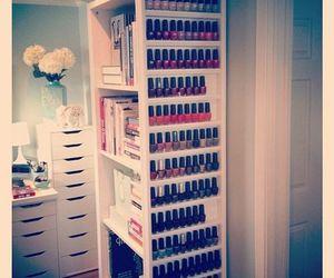 nails, nail polish, and room image
