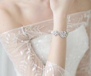 beautiful, dress, and lace image