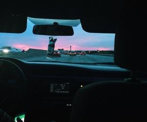 car, sky, and tumblr image