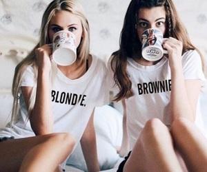 black, blonde, and blondie image