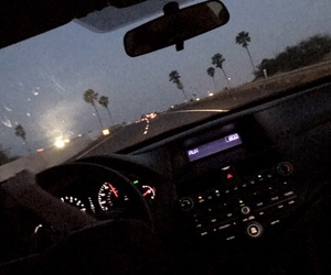 palm trees, the neighbourhood, and late night drives image