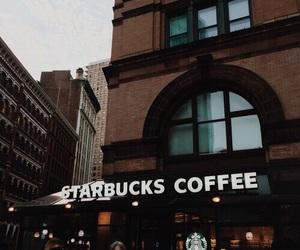 coffee, starbucks, and brown image