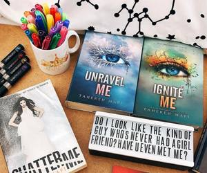 books, pencils, and read image