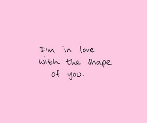 love, pink, and ed image