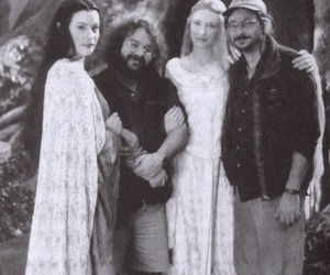 peter jackson, arwen, and cate blanchett image