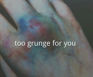 grunge, hand, and alternative image