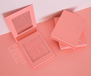 blush and kylie cosmetics image
