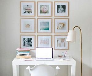 desk, decoration, and white image