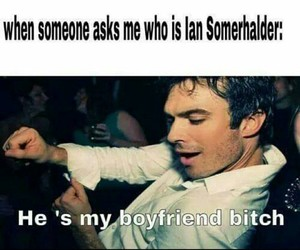 damon salvatore and ian somerhalder image