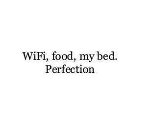 bed, life, and food image