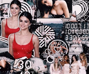 selena gomez, ariana grande, and edit goals image