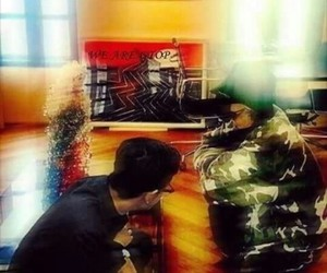 big bang, gdragon, and gtop image