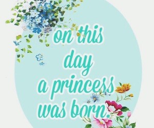 birthday, floral, and flower image