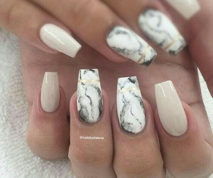nails, fashion, and tumblr image